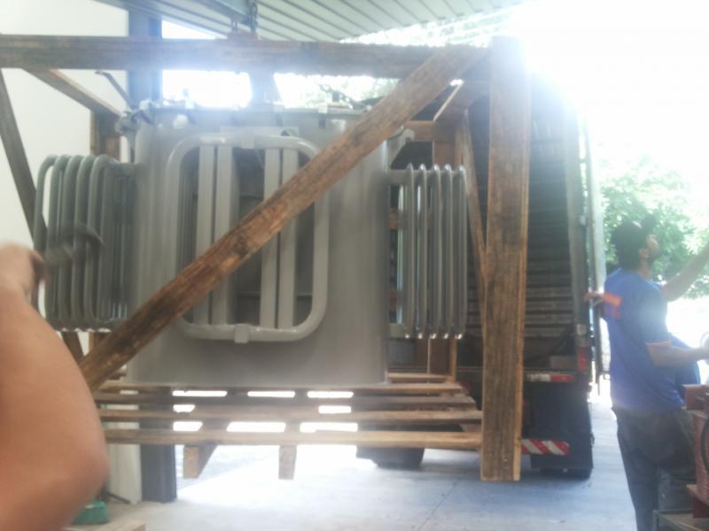 Manutenção de transformadores