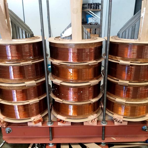 Análise de óleo de transformador